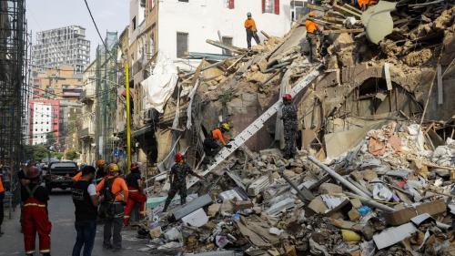 Liban : plus de 85000 locaux endommagés par l'explosion dans le port