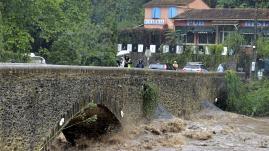 Image de couverture - Au fil de l'eau. Les épisodes cévenols ou pluies cévenoles vont-ils se multiplier dans l'avenir ?