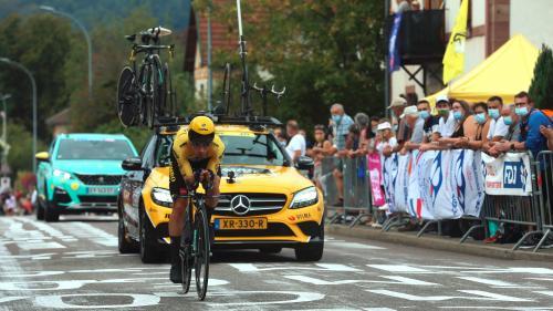 DIRECT. Tour de France 2020 : Pogacar menace le maillot jaune de Roglic. Suivez le contre-la-montre entre Lure et la Planche des Belles Filles