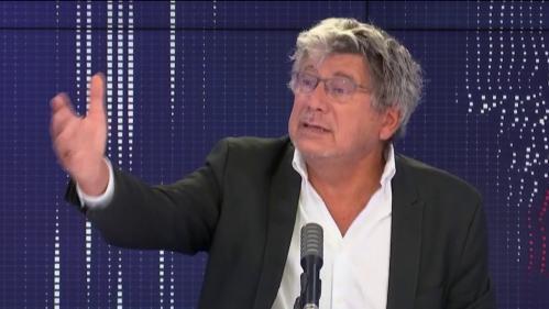 """VIDÉO. Bridgestone : """"On ne peut plus accepter que des entreprises viennent s'implanter en France et organisent elles même leur baisse de production"""", dénonce Éric Coquerel"""