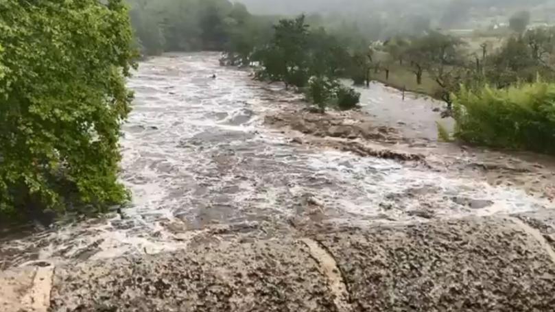 Image de couverture - VIDEOS. Les Cévennes touchées par des crues impressionnantes après de violents orages