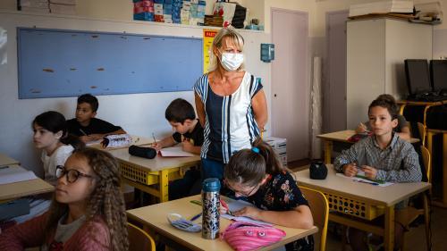 Coronavirus : le protocole sanitaire en passe d'être allégé dans les écoles