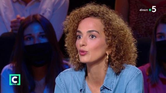 L\'écrivaine Leila Slimani, le 20 septembre 2020 sur France 5.