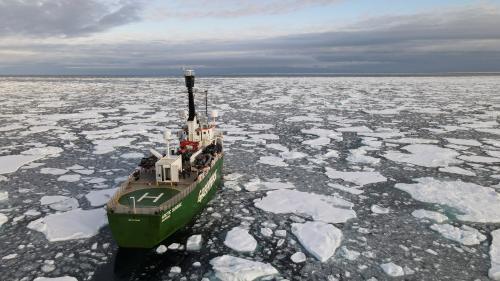 La superficie de la banquise estivale de l'Arctique a été la deuxième plus faible jamais mesurée