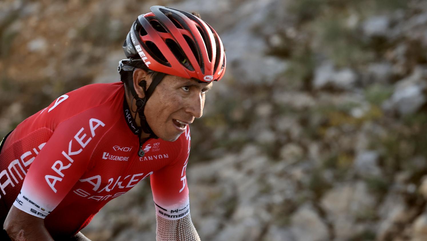 """Tour de France : le Colombien Nairo Quintana assure être un coureur """"propre"""""""