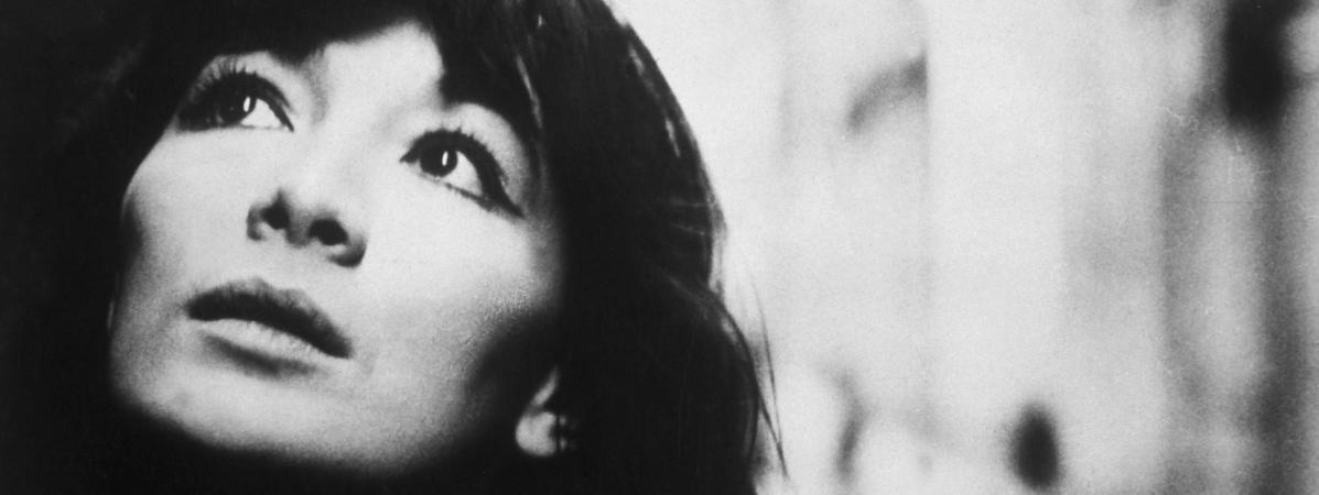 Juliette Greco, prise en photo en 1962.
