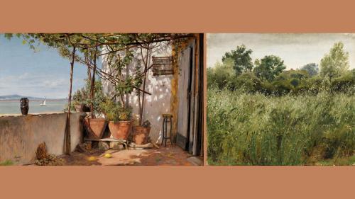 Image de couverture - L'âge d'or danois au Petit Palais : une peinture singulière et séduisante