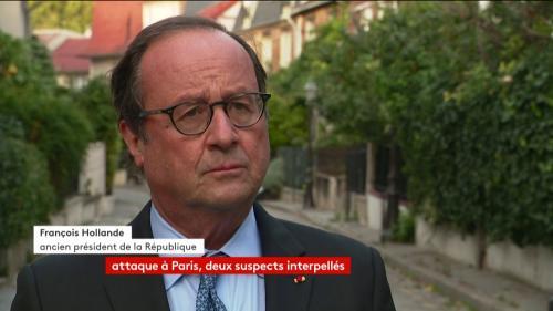 """VIDEO. Attaque près de """"Charlie Hebdo"""" : """"Nous n'en avons pas terminé avec le terrorisme islamiste"""", réagit François Hollande"""
