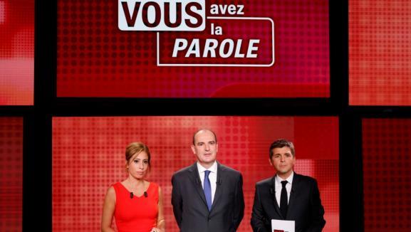 On Ne Pouvait Pas Le Rater Jean Castex Invite De L Emission Politique De France 2 Le Best Of