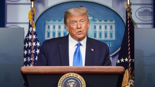 Présidentielle américaine : et si Donald Trump refusait le résultat du scrutin en cas de défaite?