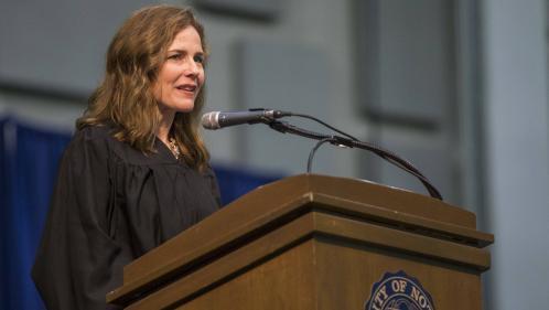 Etats-Unis : six choses à savoir sur Amy Coney Barrett, choisie par Donald Trump pour remplacer Ruth Bader Ginsburg à la Cour suprême