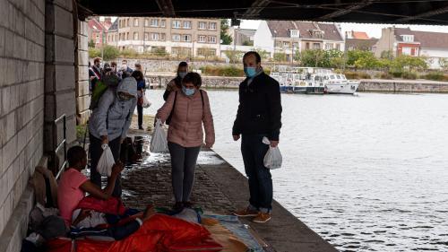 Calais : le Conseil d'Etat ne suspend pas l'arrêté interdisant la distribution de nourriture aux migrants dans le centre-ville