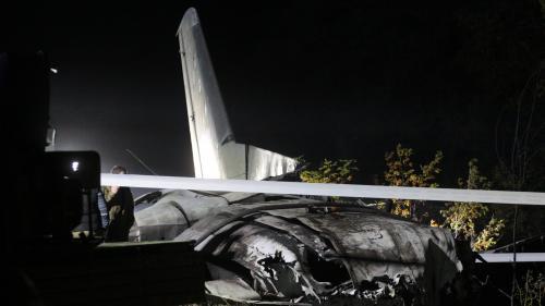 Ukraine : 22 morts dans le crash d'un avion militaire dans l'est du pays