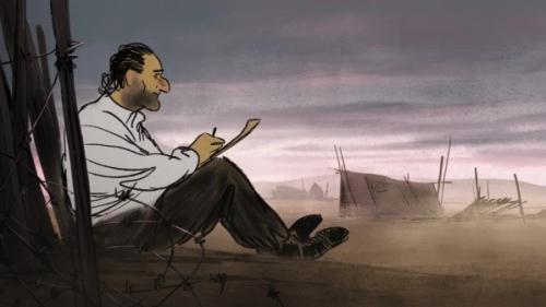 """""""Josep"""", un film d'animation poignant sur un réfugié républicain espagnol en France"""