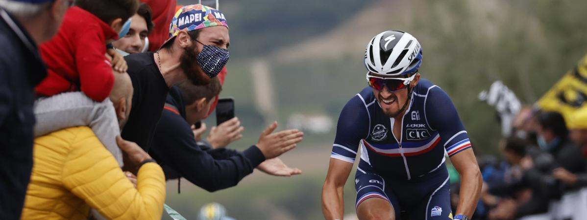 Julian Alaphilippe Champion Du Monde De Cyclisme A La Sensation D Avoir Realise Quelque Chose De Grand