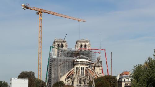 """Notre-Dame : """"Nous n'avons pas cessé de travailler"""" pour clarifier l'utilisation des dons, affirme Célia Vérot de la Fondation du patrimoine"""