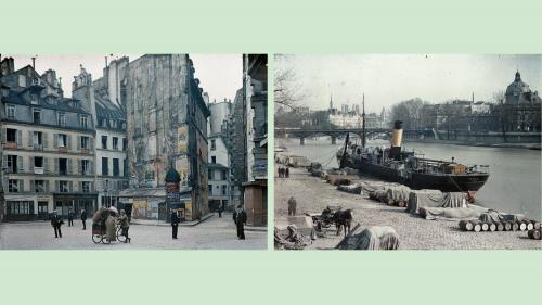 Image de couverture - Paris il y a un siècle : la Cité de l'architecture expose les magnifiques autochromes d'Albert Kahn