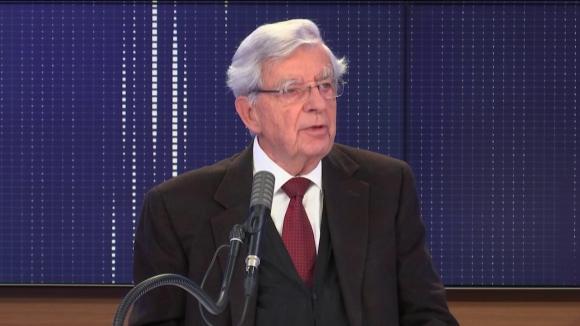 """Jean-Pierre Chevènement,ancien ministre et président de la Fondation Res Publica, était l'invité du """"8h30 franceinfo"""", dimanche 4 octobre 2020."""