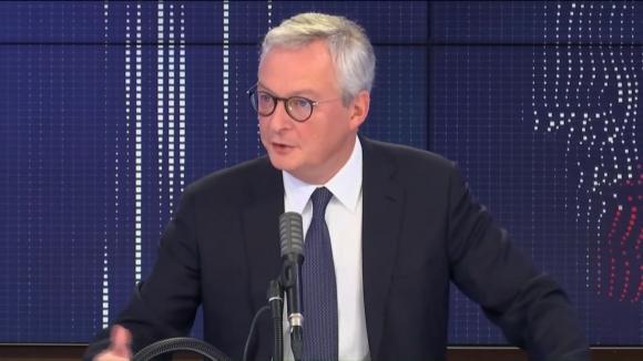 """Bruno Le Maire, ministre de l'Economie, était l'invité du """"8h30 franceinfo"""", mardi 6 octobre 2020."""