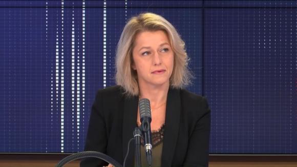 """Barbara Pompili, ministre de la Transition écologique, était l'invitée du """"8h30 franceinfo"""", jeudi 8 octobre 2020."""
