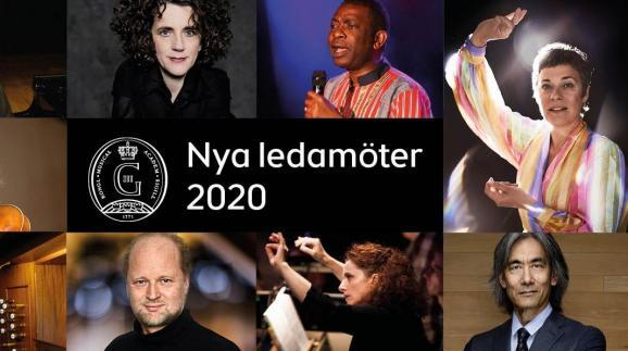 Les neuf nouveaux membres de l\'Académie, quatre suédois et cinq étrangers, parmi lesquels Youssou N\'dour