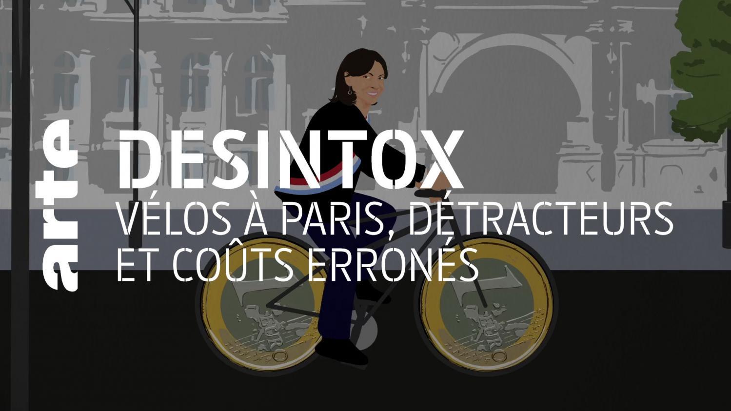 Désintox. Non, la mairie de Paris n'a pas investi 25 000 euros par cycliste pour le plan vélo
