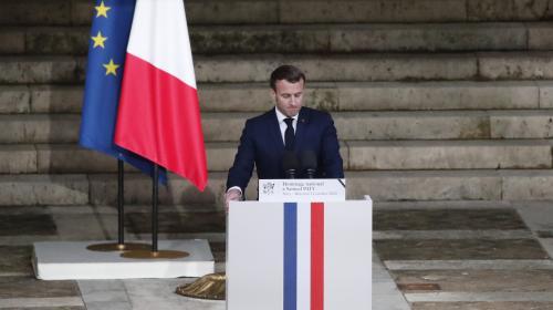 Samuel Paty : Emmanuel Macron replace la laïcité et l'école au centre de la République