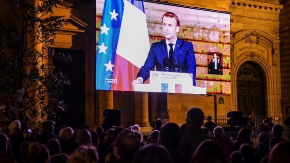 """Hommage à Samuel Paty : Sophie Venetitay du SNES-FSU salue """"les mots très forts"""" d'Emmanuel Macron"""