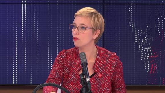 """Clémentine Autain, députée La France Insoumise de Seine-Saint-Denis, était l'invitée du """"8h30franceinfo"""", jeudi 22octobre 2020."""