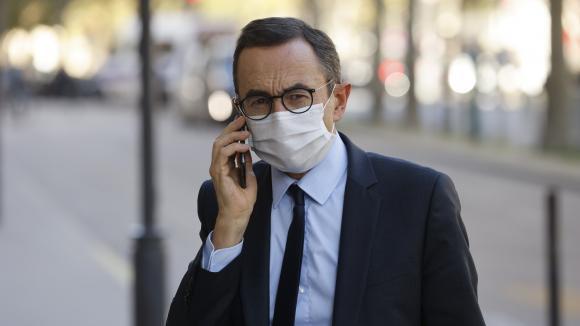 Bruno Retailleau, président du groupe Les Républicains au Sénat, le 21 octobre 2020 à Paris