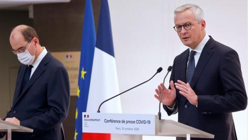 Covid-19: les mesures de couvre-feu coûteront un peu plus de 2 milliards d'euros aux finances publiques, affirme Bruno Le Maire