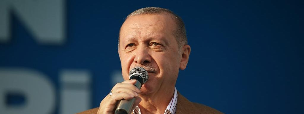 President Recep Tayyip Erdogan, October 25, 2020.