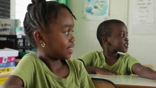 En Guadeloupe, le créole estparlé maispeu enseigné. Des réticences venues des chefs d'établissements, mais aussi parfois des parents. Reportage de France Télévisions, pour le journal de 20 Heures du lundi 26 octobre.