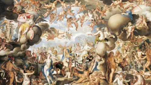 """Image de couverture - """"Les Métamorphoses"""" d'Ovide sublimées par la peinture baroque dans un ouvrage festif"""