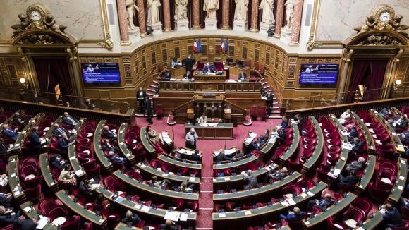 Une séance de questions au gouvernement au Sénat, le 10 juin 2020.