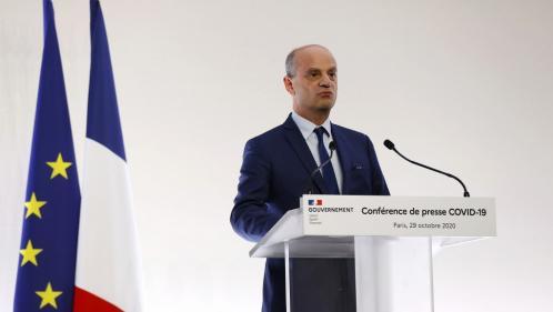 Confinement : le nouveau protocole sanitaire de Jean-Michel Blanquer dans les écoles ne lève pas les inquiétudes du syndicat SNES-FSU