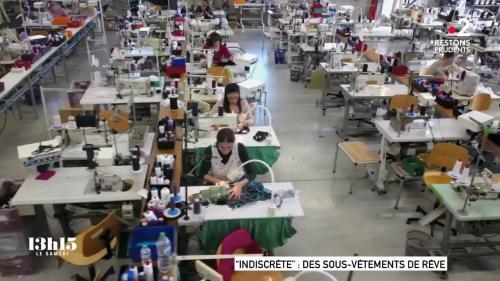 VIDEO. Quand la marque de lingerie française Indiscrète a réussi à payer ses salariées grâce à la confection de masques