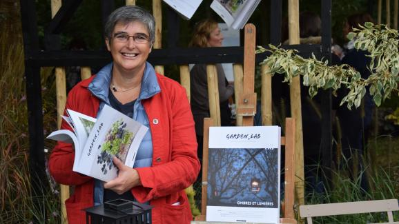 "Sylvie Ligny, co-founder of the magazine ""Garden_Lab ""."