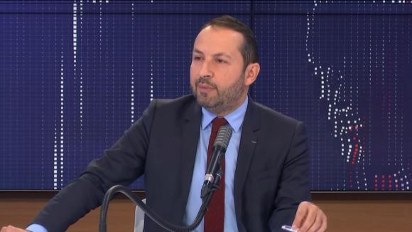 """Le député du Nord et porte-parole du RN, Sébastien Chenu, était l'invité du """"8h30 franceinfo"""", mercredi 18 novembre 2020."""