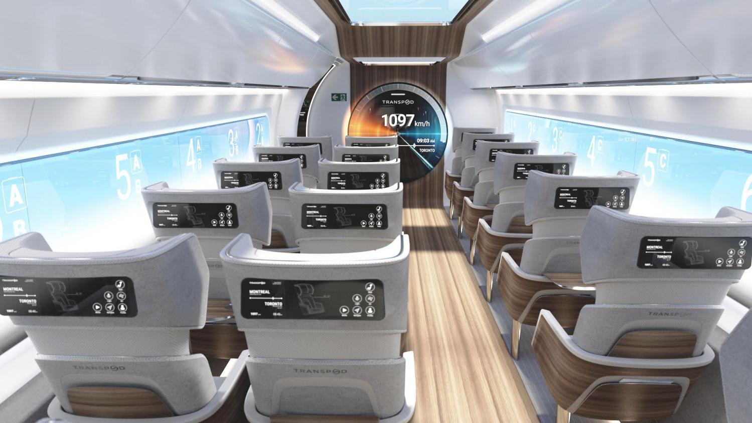 Le billet sciences du week-end. L'Hyperloop : un train à 1000 km/h