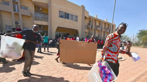 Le Burkina Faso élit son président après une campagne ouverte, mais dans un contexte sécuritaire tendu