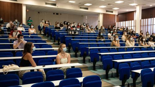 Covid-19 : les cours à l'université restent à distance mais les examens peuvent se tenir en amphi