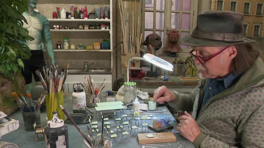 Culture : rencontre avec Dan Ohlmann, le créateur du musée insolite Miniature et Cinéma