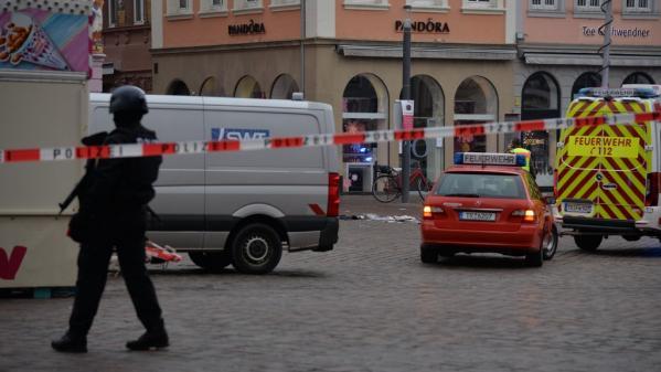 Allemagne : un homme de 51 ans fonce sur des passants