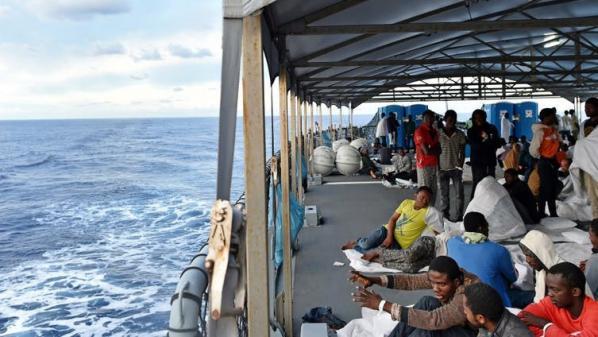 Migrants :la traversée en direction des îles Canaries