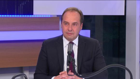 """Jean-Christophe Lagarde, le président de l'UDI était l'invité du """"8h30 franceinfo"""", jeudi 3 décembre 2020."""