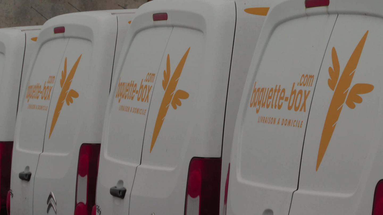 En Alsace, une start-up propose la livraison de pain frais et de