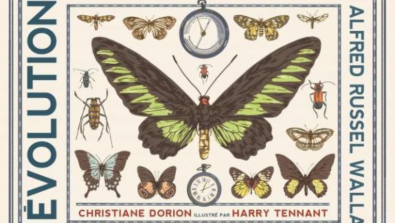 """""""Ο αντίπαλος του Δαρβίνου """", C. Dorion, εικονογραφημένος από τον H. Tennant"""