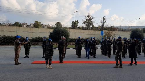 VIDEO. Les soldats français de la Finul au Liban déçus de ne pas fêter Noël avec Emmanuel Macron