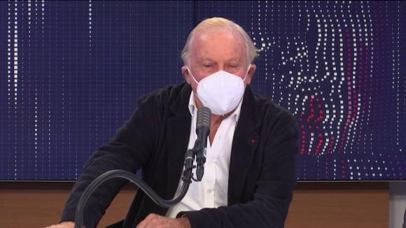 """Le président du Conseil scientifique, était l'invité du """"8h30 franceinfo"""", mercredi 13 janvier 2021."""